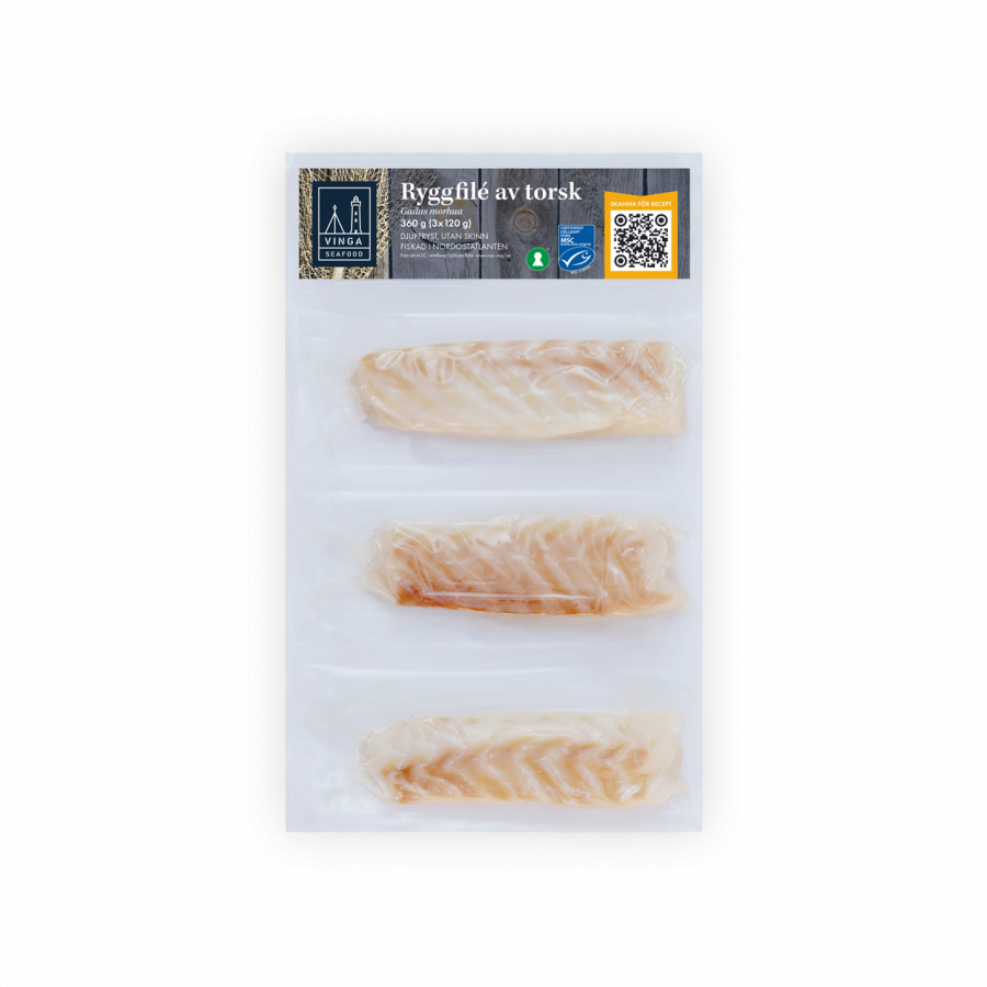 Ryggfilé torsk